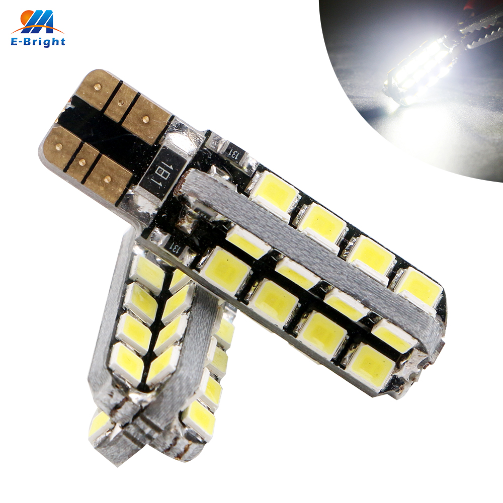 200pcs lot T10 Canbus W5W 194 168 2835 32 SMD 32 Led Can bus 12V DC