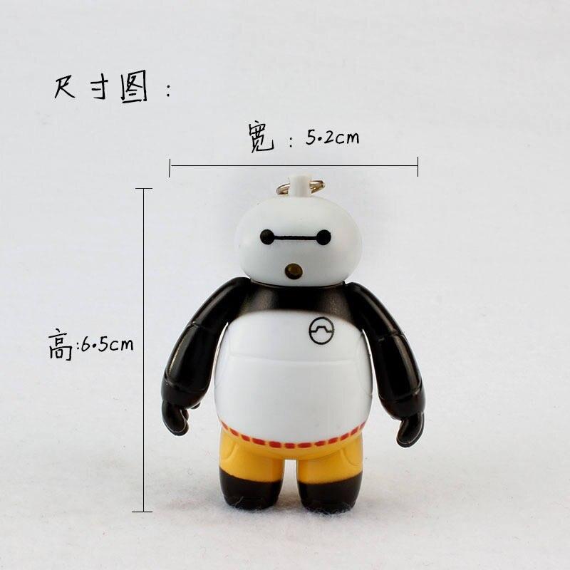 2016 new style Kung Fu Panda font b led b font keychains font b flashlight b
