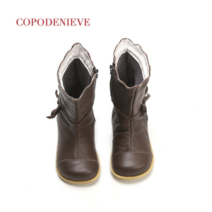 Image 5 - COPODENIEVE Winter Splash Waterproof Girls Boots Ski Cloth Warm Snow Boots Kids Boys,Fleece Children Shoes Girls Mother Daughter