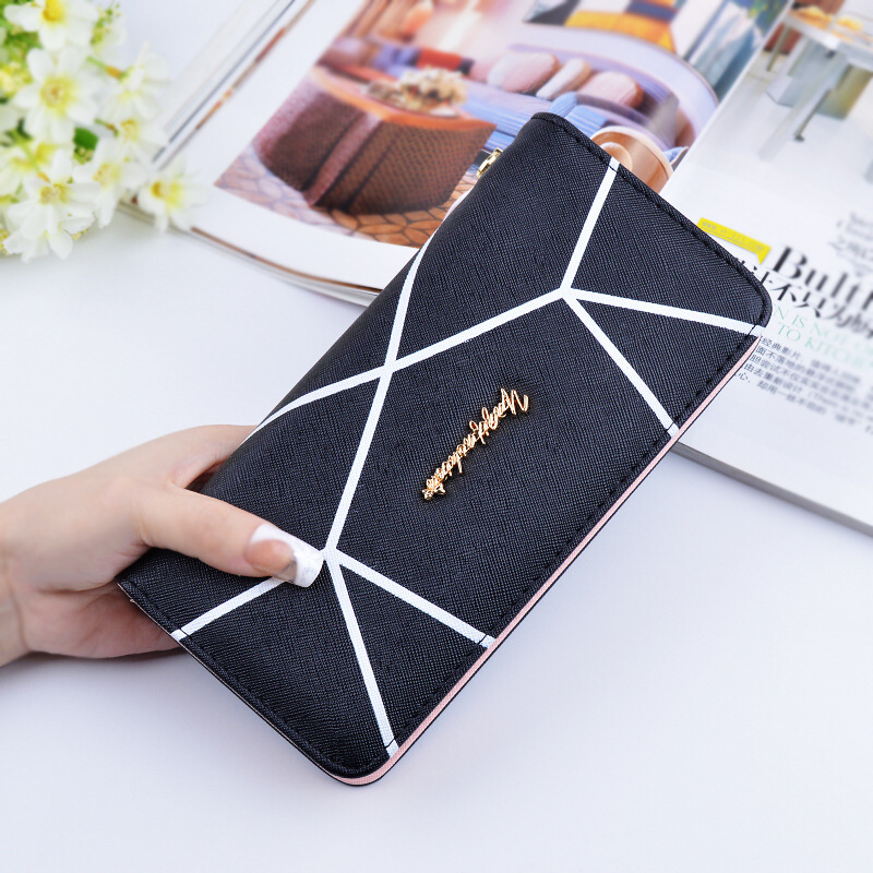 2018 Best Deal Fashion PU Handbags For Lady Popular Purse Long Card Holder Birthday Bags ...