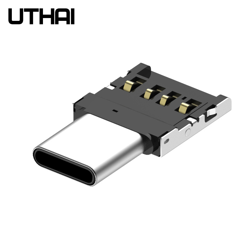 UTHAI C21 MINI TYPE-C OTG Adapter USB Into TYPE C USB3.1 Flash Drive Become U Disk