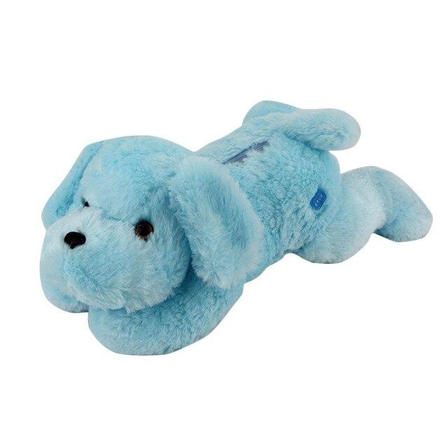 Горячая! 50 см Красочные Светящиеся Плюшевые Собаки Световой Кукла Плюшевые Игрушки Детские Игрушки Дети Спальные Успокоить Кукла Подарки Новый Продажа