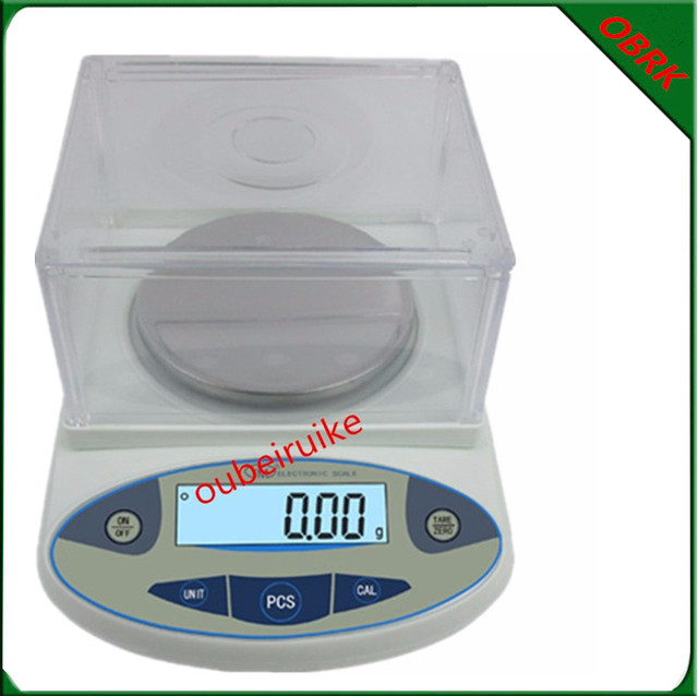 0.01g Precision Electronic Balance Analysis Laboratory Jewelry Scale Precision Gold Balance With Wind Cap
