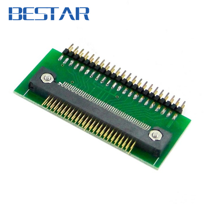 50PIN 1.8 Micro Drive to 2.5 44pin IDE Adapter Adaptor for Toshiba Hard Disk Drive sd memory card to ide 44 pin hard disk adapter creates a ssd solid state drive
