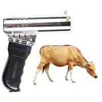 Бычья голова Dehorner Airgun Тип Быстрый нагрев овечья голова животных бескровный Пистолет-Тип ферма корова принадлежности Инструменты