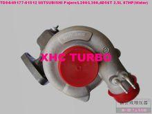 NEW TD04 49177-01512 Turbocharger turbo for MITSUBISHI L200/L300,Pajero,Shougun,Delica 4D56,2.5L 87HP(3 holes+water)