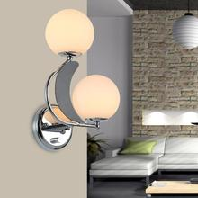 New Arrival Wall Light Unique And Novelty Led Lamps Glass Ball Lights For Home E27 110V 220V Free Shipping
