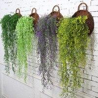 الإبداعية النباتات محاكاة زفاف الجدار الديكور ثلاثي الأبعاد الجدار الشنق المنزل نباتات اصطناعية بلاستيكية الأميرالية ليو جدارية