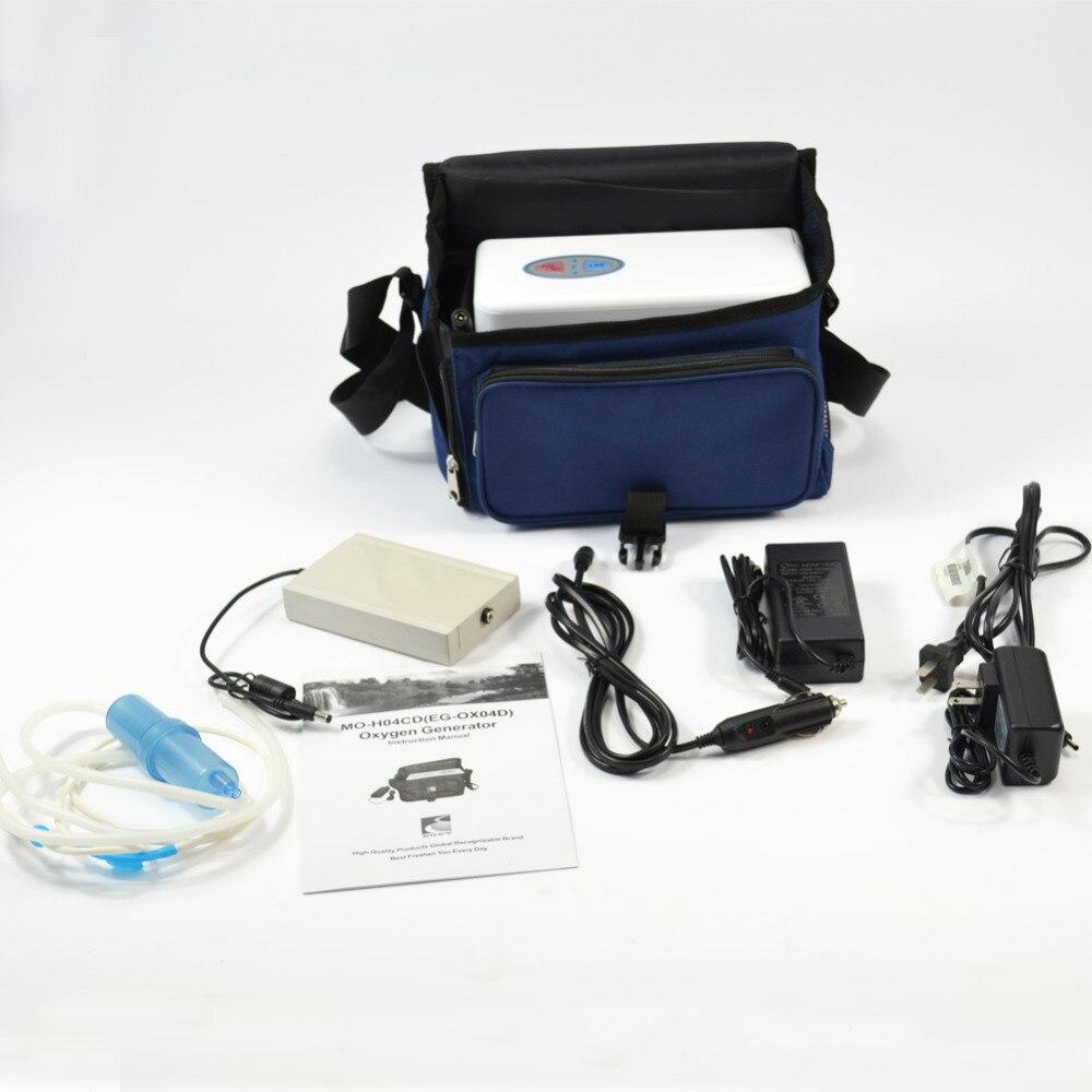 Brand EGET Two Batteries Genuine Portable Oxygen