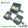 IP66 à prova d' água LEVOU Holofote 30 W 50 W 70 W 100 W 85-265 V Quente/Frio Branco Lâmpada de Iluminação LED Super Brilhante Holofotes Inundação ao ar livre