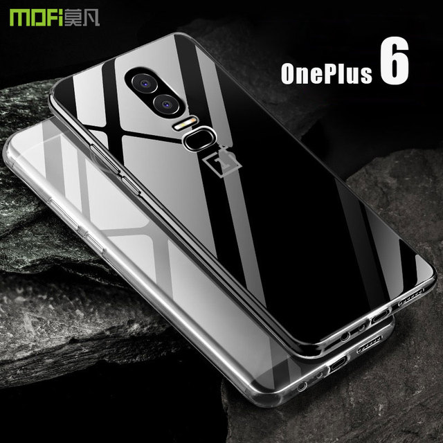 brand new aabb8 0de0b US $9.99 |oneplus 6 case MOFi For Oneplus 6 Transparent TPU Back cover Case  For One plus 6 Soft Silicone Full Cover OP6 Case Cover 6.28''-in Fitted ...