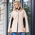 Veri Gude New Arrival Women Ponchos Hooded Coat for Winter Cloak