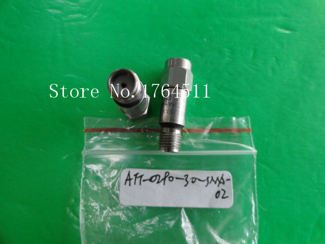 [BELLA] MIDWEST ATT-0290-30-SMA-02 18GHz 30dB 2W SMA Coaxial Fixed Attenuator  --2PCS/LOT