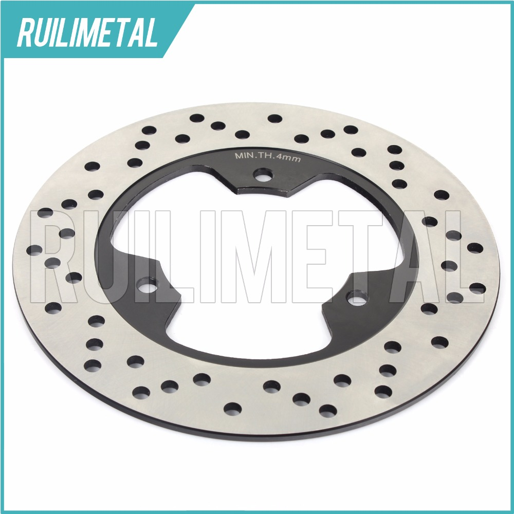 Rear Brake Disc Rotor for FZR 250 EXUP FZR 250 R RR FZX 250 Zeal 1991 1992 1993 1994 1995 1996 1997 1998 1999 2000-2016 lopor motorcycle rear brake disc rotor for kmx125 kmx 125 1986 1987 1988 1989 1990 1991 1992 1993 1994 1995 1996 1997 1998