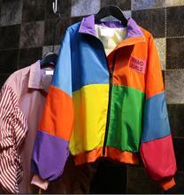 2016 Korean version of College Wind Harajuku loose students Jacket