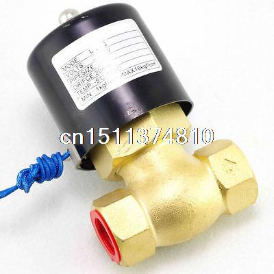 1 1/2BSPT 2Way NC Hi-Temp Brass Steam Solenoid Valve 220VAC PTFE Pilot Piston free shipping 2l500 50 2way nc hi temp 2 brass steam solenoid valve ptfe 110v ac