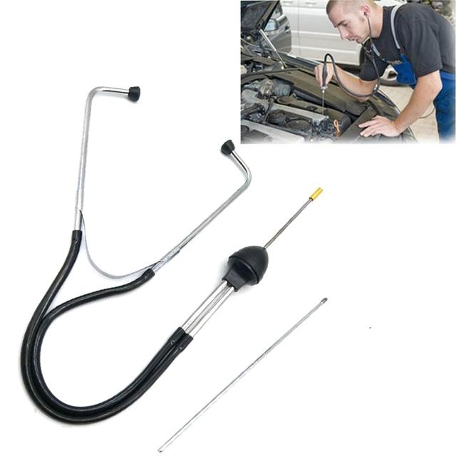 1 peça de profissional mecânica de automóveis estetoscópio motor do carro bloco ferramenta diagnóstico cilindro ferramentas consultoria automotiva para carro