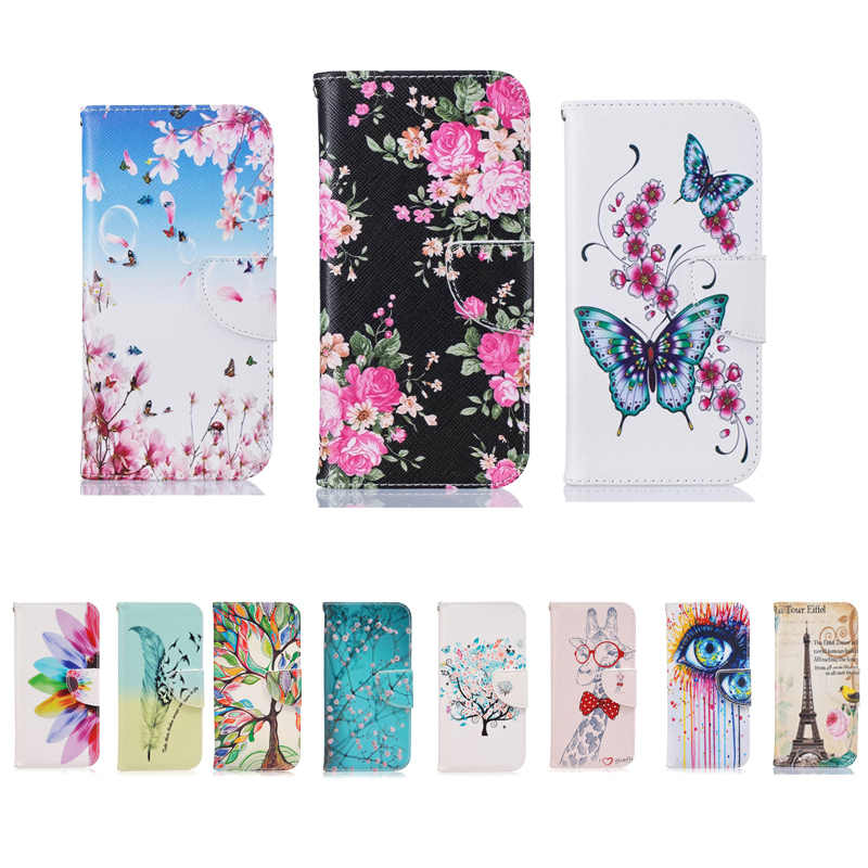 Leather Phone Case For Samsung Galaxy J3 J5 2016 J7 Flip Cover Case Wallet Stand Funda For Samsung J5 2015 Case