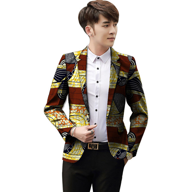 463471f785594 Customized african dashiki suit men festival blazer for wedding mens  brightly colored print jacket suit africa