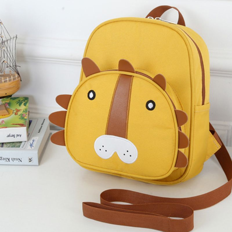 High Quality New Nylon Girl Boy Anti Lost Backpack Cute Animals Kid Baby Safety Walking Harness Leash Kindergarten School Bag in School Bags from Luggage Bags