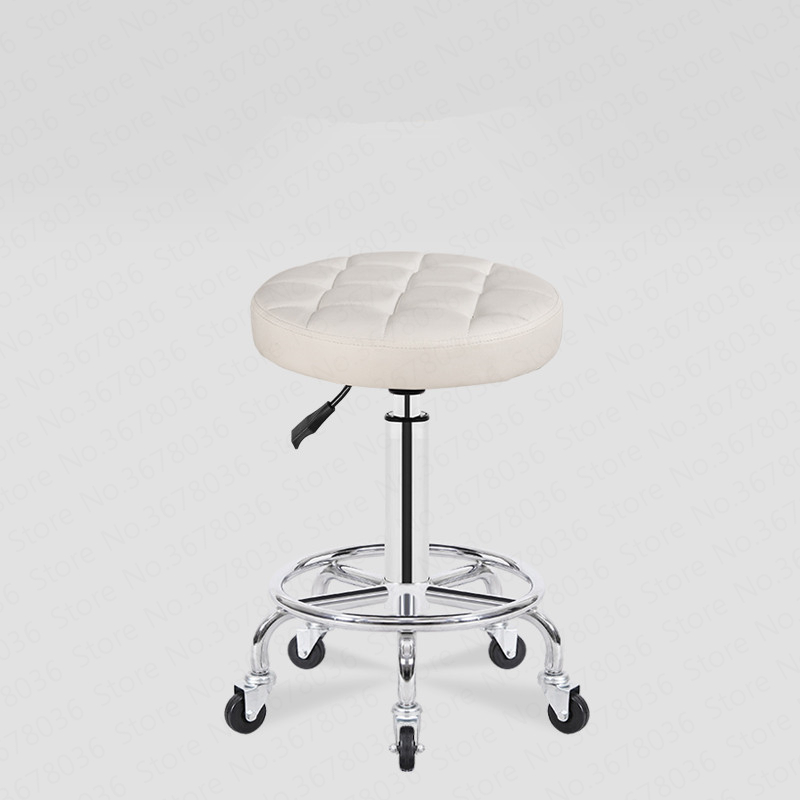 Beauty stool pulley work chair rotary lift makeup chair beauty chair beauty salon special round stool