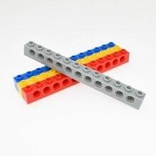 3895 1x12 техника с отверстиями строительные блоки набор из 20 штук Волшебный Робот классический подарок игрушка для детей