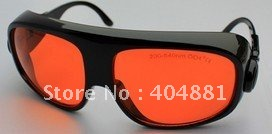 laser safety glasses 190-540nm O.D 4+ CE certified for 266nm, 445nm, 473nm, 532nm high power laser цена и фото
