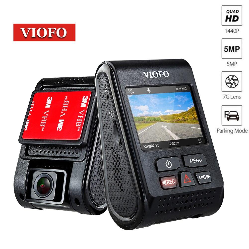 VIOFO A119 Dash Cam voiture Dvr caméra automatique Full HD 1080 p tableau de bord véhicule blackbox dvr enregistrement vidéo de voiture en option GPS CPL
