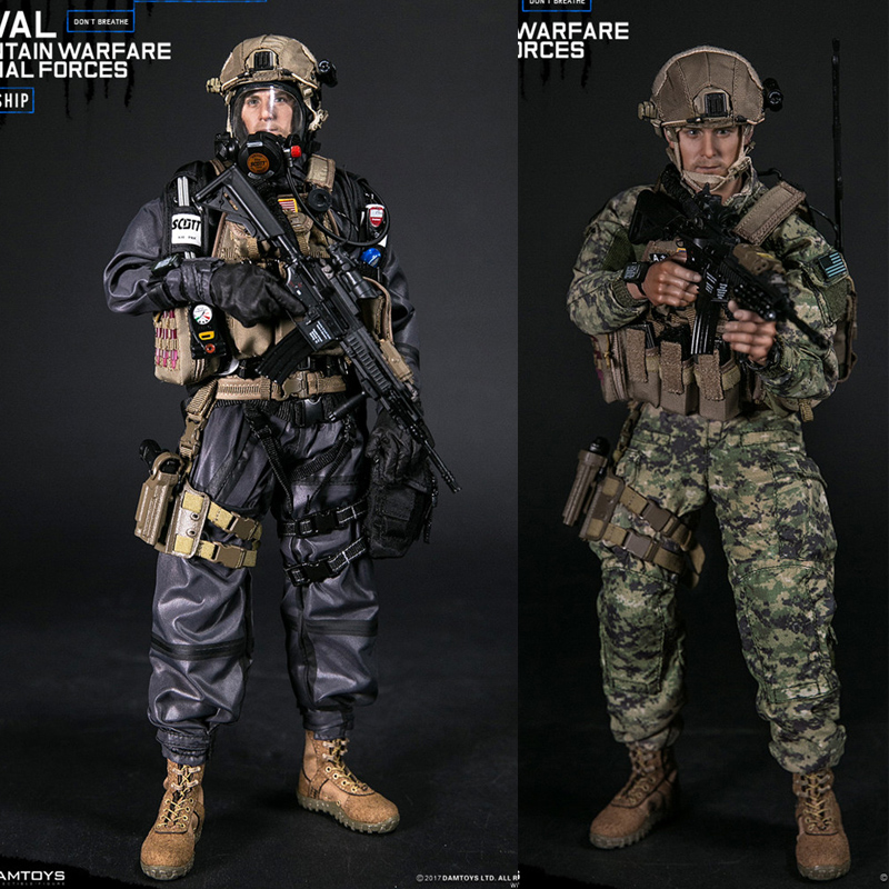 78051 1/6 NAVAL MOUNTAIN WARFARE SPECIAL FORCES Action Figure Colletible Model Toy78051 1/6 NAVAL MOUNTAIN WARFARE SPECIAL FORCES Action Figure Colletible Model Toy