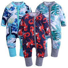Kids Tales Newborn Baby 3PCS/Lot Rompers Long Sleeve Cotton