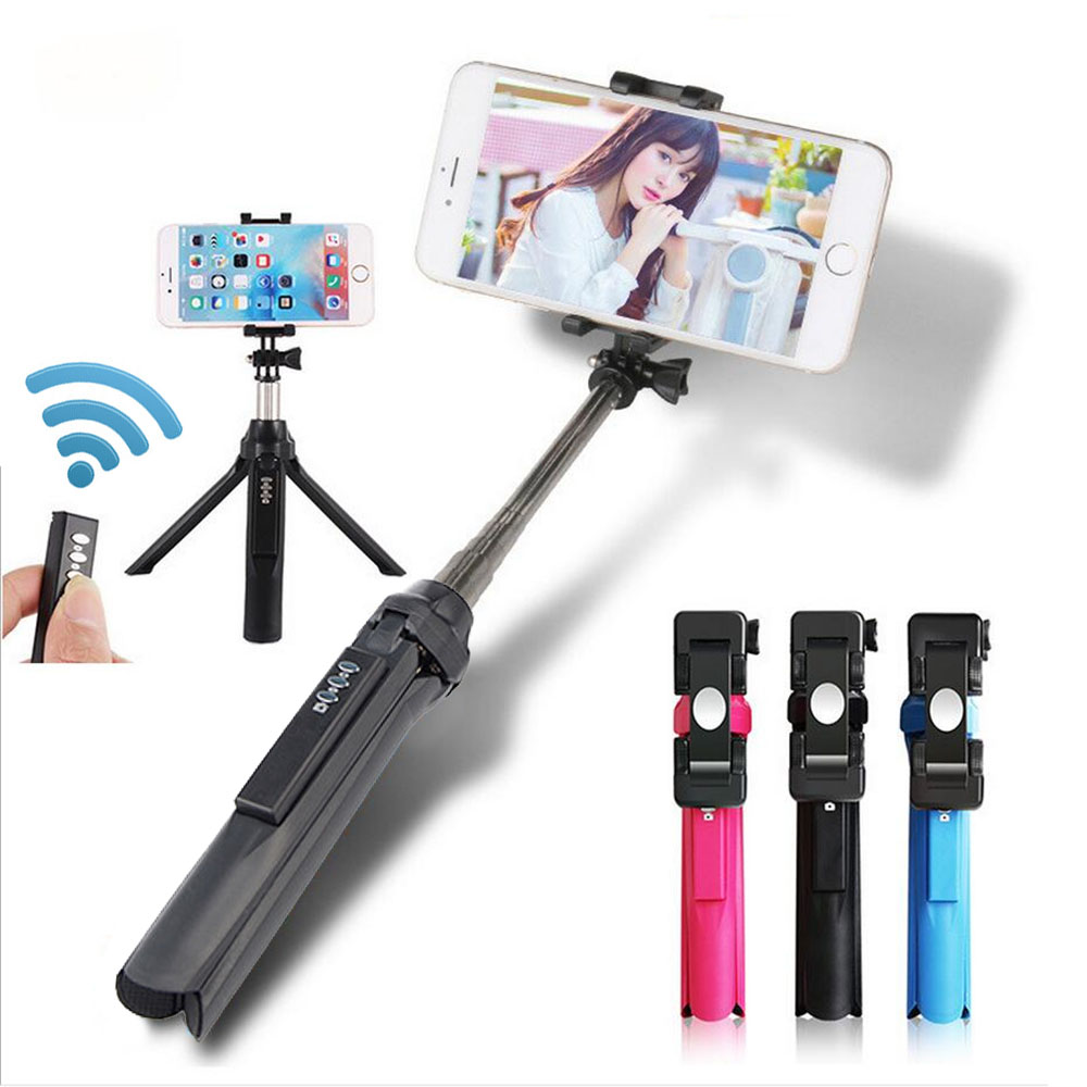 Bluetooth Selfie Stick Photograph Universal Tripod Monopod Selfies Stick for Android IOS Smart Phone iphone