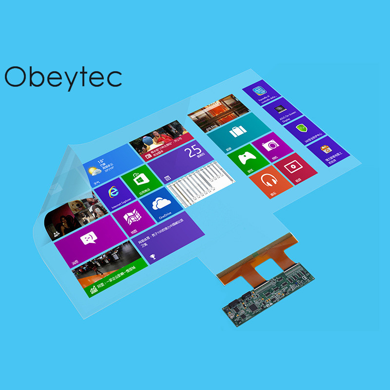 Obeytec 48 10 Touch Points Touch Film, Support Windows, Android, Linux, Driver free, Interactive Touch foil, Capacitive Touch