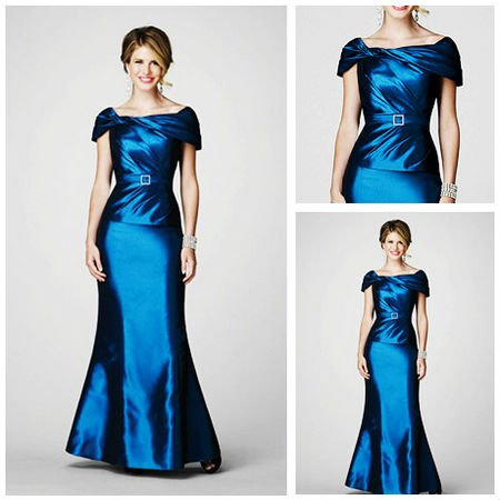 Mm1024 Rhinestone Buckle Floor Length Y Mother Of The Bride