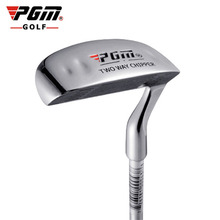 PGM Golf Double side Chipper Club Stainless Steel Head Mallet Rod Grinding Push Rod Chipping Club golf putter for Outdoor sports
