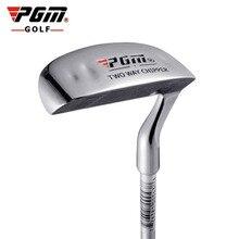 PGM Golf çift taraflı parçalayıcı kulübü paslanmaz çelik kafa çekiç çubuk taşlama itme çubuğu yonga kulübü golf atıcı açık spor