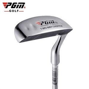Image 1 - を PGM ゴルフ両面チッパークラブステンレス鋼ヘッドマレットロッド研削プッシュロッドチッピングためクラブゴルフパター屋外スポーツ