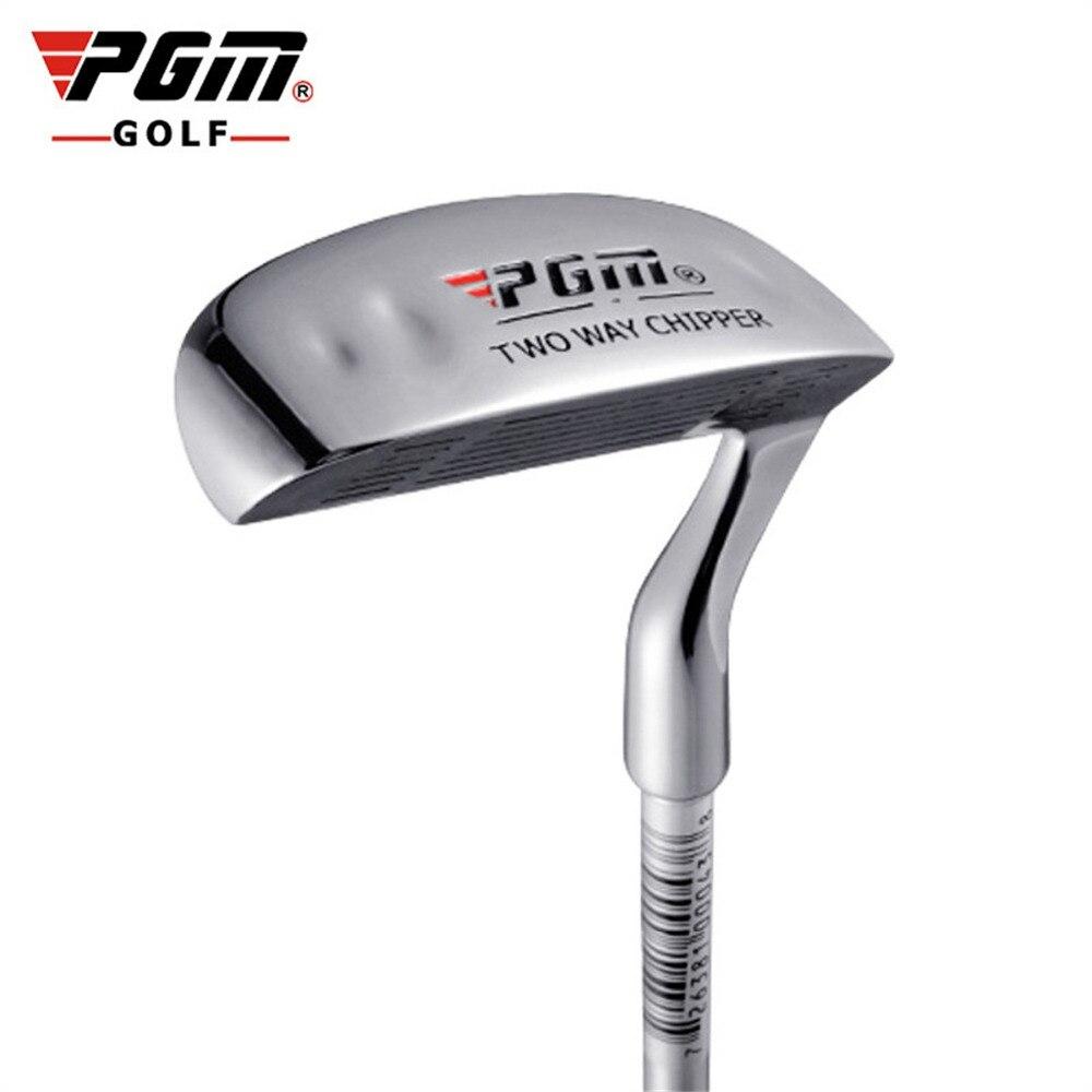 Taco de golfe de aço inoxidável do putter do golfe dos clubes de lascar da haste de moedura da cabeça do malete do clube do dobro-lado para esportes ao ar livre