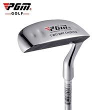 Taco de golfe de aço inoxidável do clube do triturador do dobro lado do golfe de pgm cabeça do martelo haste de moedura do impulso que lasca o taco de golfe para esportes ao ar livre