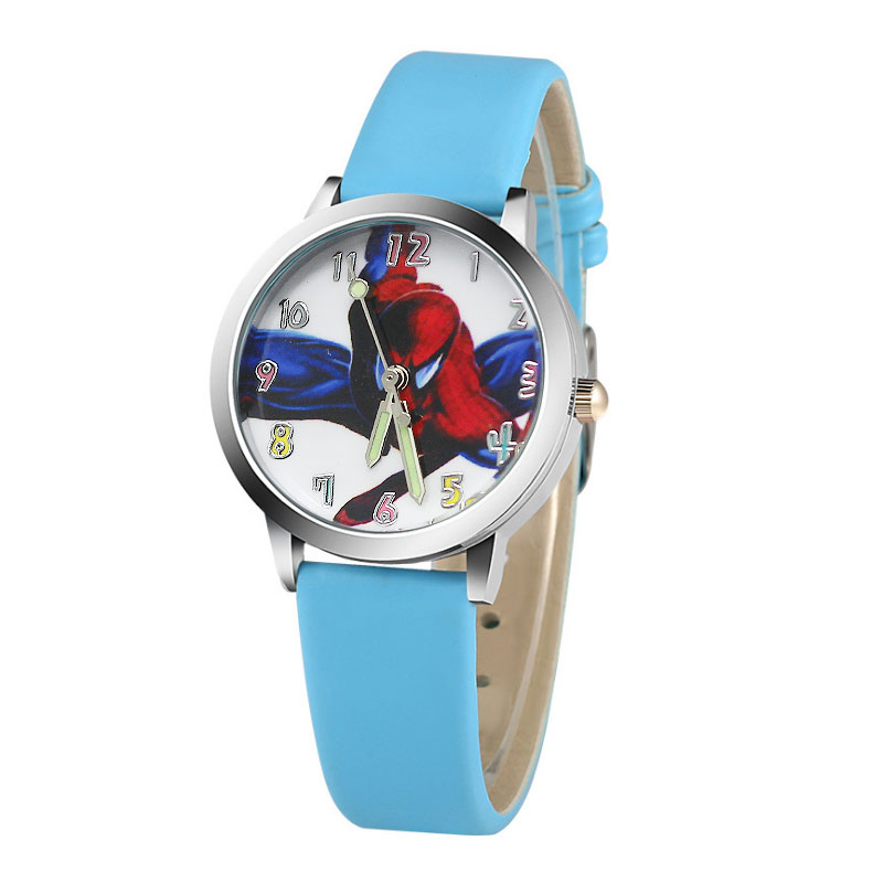 Hot koop cartoon spiderman horloge kinderen horloges Lederen - Kinderhorloges - Foto 1