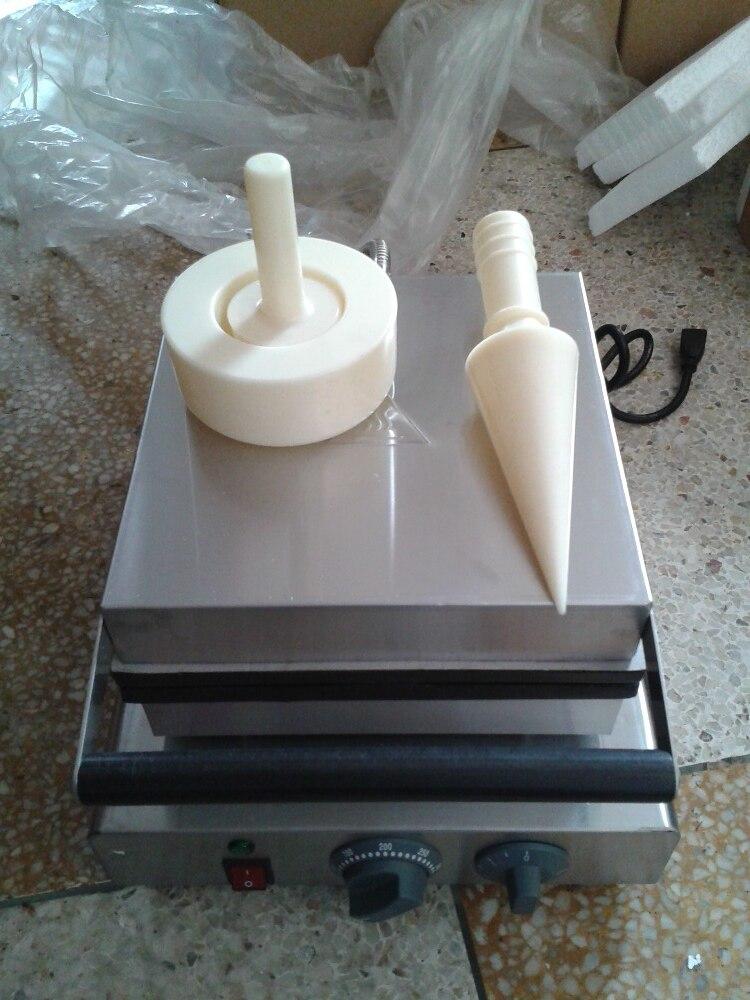Бесплатная доставка Электрический Конус Мороженого maker машина Выпечки Конуса egg roll машины