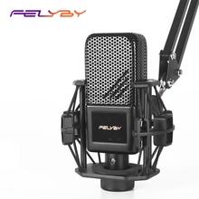 FELYBY BM1000 Karaoke Compurter  Microphone Condenser  for /Laptop/PC Recording Mikrofon Audio Studio Microphone