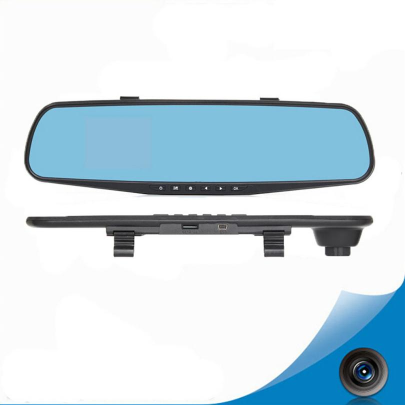 DVR Camera 1080P Full HD High Quality Resolution 2 8 inch HD LCD Car Mirror HD