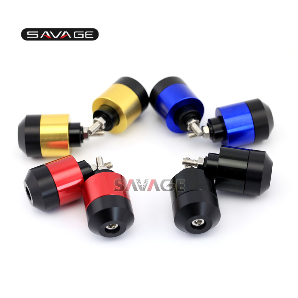 FOR HONDA CBR 250R/CBR 300R/CBR 400R/CBR 500R Motorcycle Accessories CNC Hand Bar End Caps Handlebar Grips Cap Plug Slider