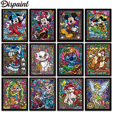 Dispaint Full Square/Round Drill 5D DIY Diamond Painting Cartoon characters 3D Embroidery Cross Stitch Home Decor Gift