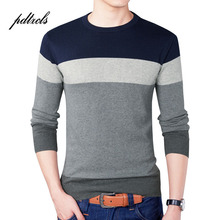 New High Quality Pure Cotton Striped Pullover Full Sleeve O-