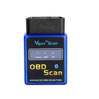 ELM327 Vgate Scan Advanced OBD2 Bluetooth Scan Tool(Support Android And Symbian) Software V2.1