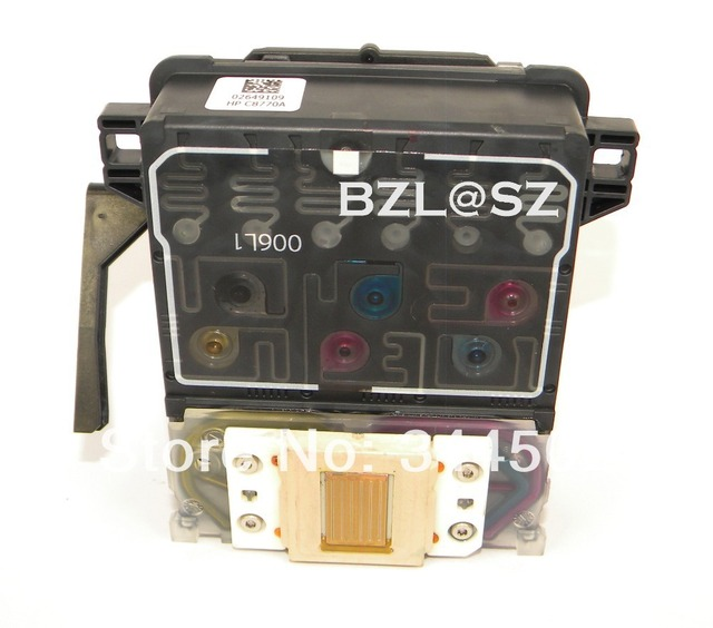 ORIGINAL AND REFURBISHED PRINT HEAD Printhead For HP photosmart C6180 C7280 C8180 for HP printer use FOR HP 02 ink
