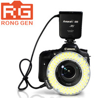 Aputure amaran halo ahl-hc100 led nhẫn flash light cho canon máy ảnh DLSR Máy Ảnh 5D MARK II III 650D 550D 700D 7D 5D2 60D