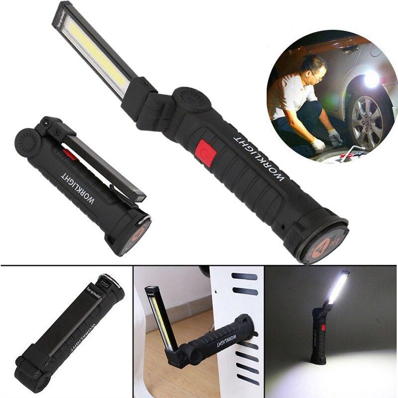 100 Led Rechargeable Cordless Work Light Garage Inspection: Aliexpress.com : Buy 360 Degree Rotatable Flashlight LED