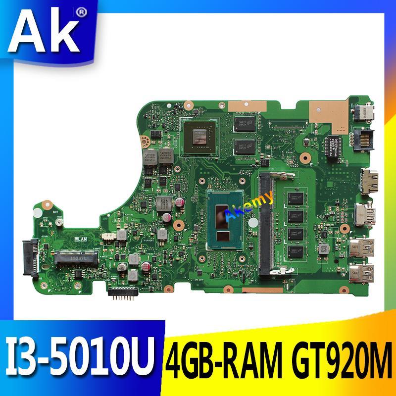 AK X555LD Laptop Motherboard For ASUS X555LD X555LDB X555LA X555LB X555L X555 Test Original Mianboard 4G-RAM I3-5010U GT920M